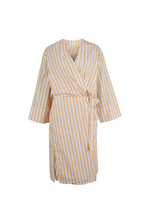 Robe - Orange Stripe