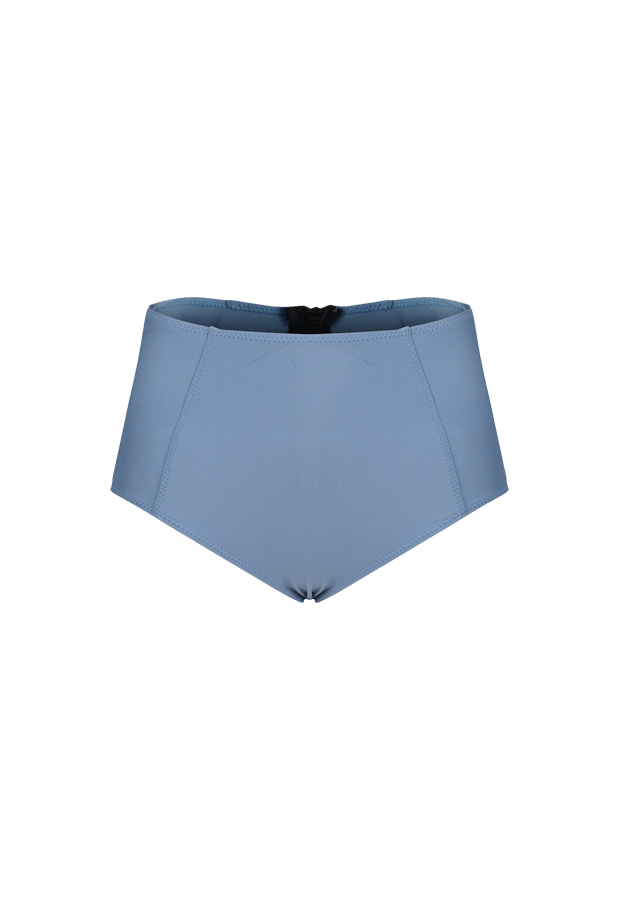 Rosie High Waist Bottom - Grayish Blue