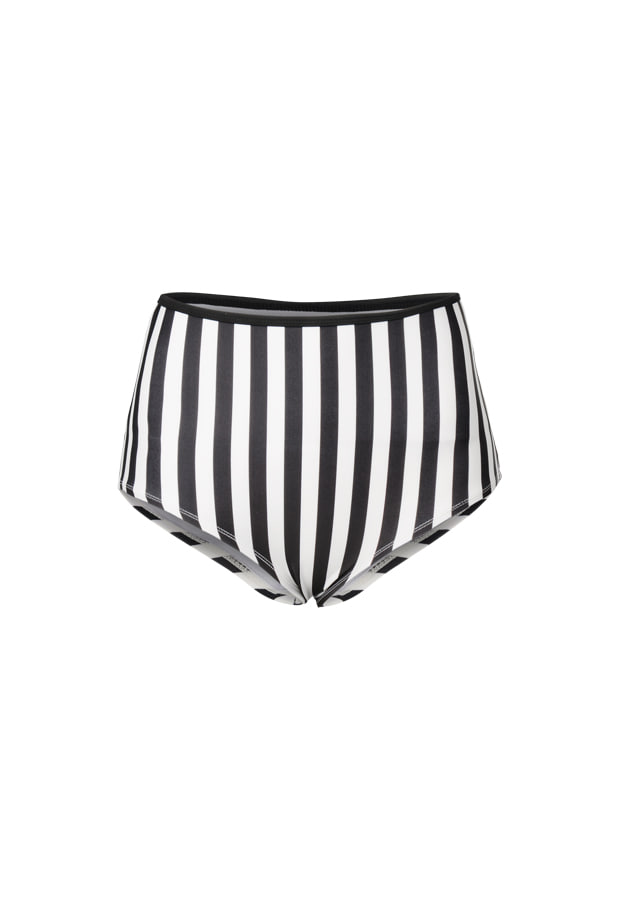 19 Blair High Waist Bottom - Stripe