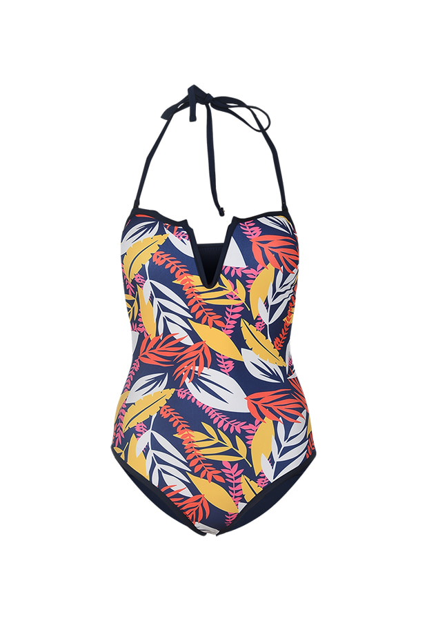 Helena One Piece - Navy Print